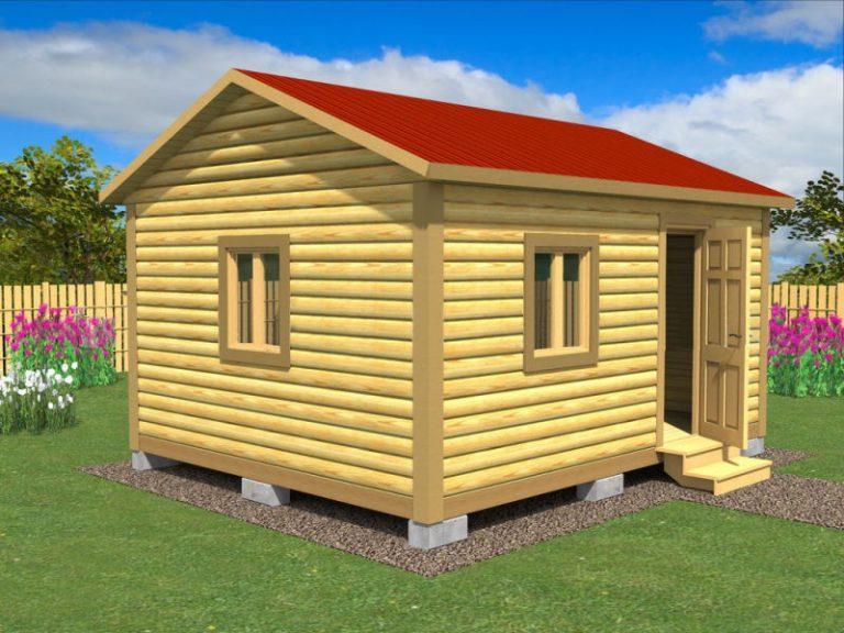 Садовый домик №10 (5 X 4м)