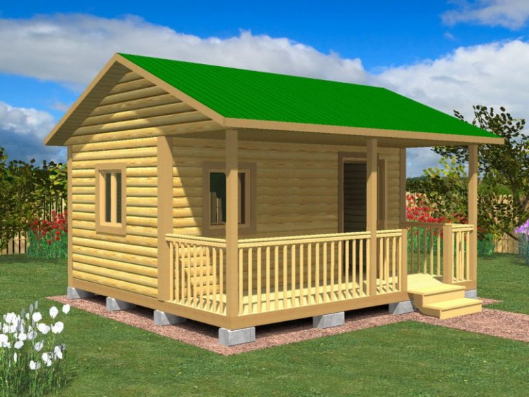 Садовый домик №11 (5 X 4,5м)
