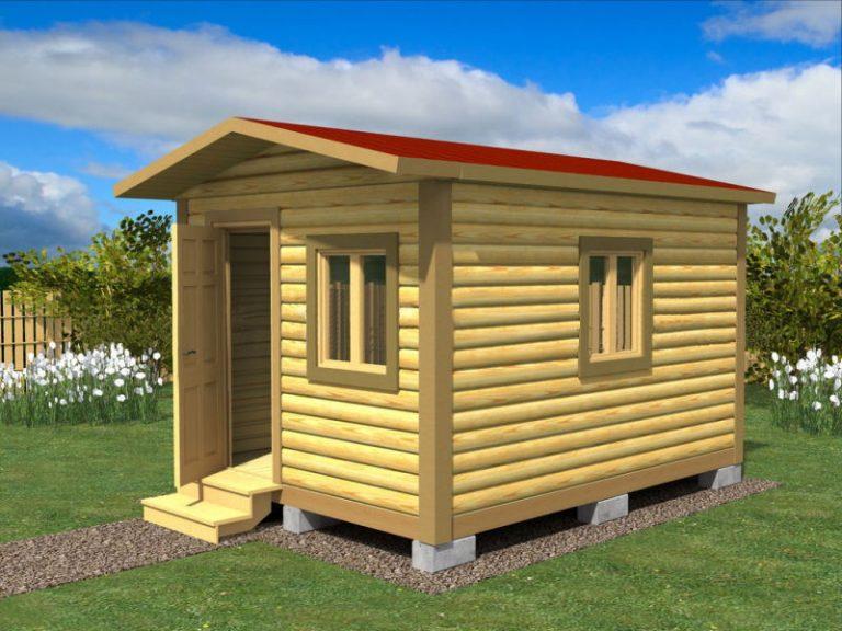 Садовый домик №2 (3 X 4м)