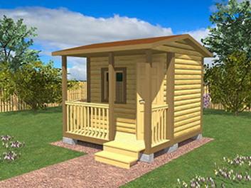 Садовый домик №20 (3 X 3м)