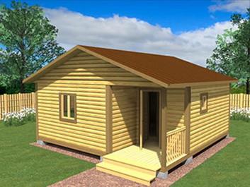 Садовый домик №23 (6 X 6м)