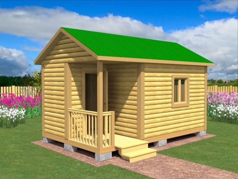 Садовый домик №7 (5 X 3м)