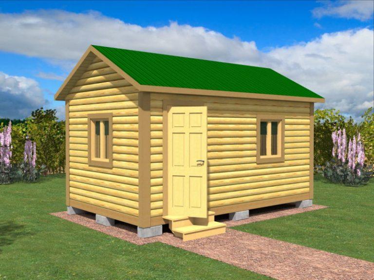 Садовый домик №8 (5 X 3м)